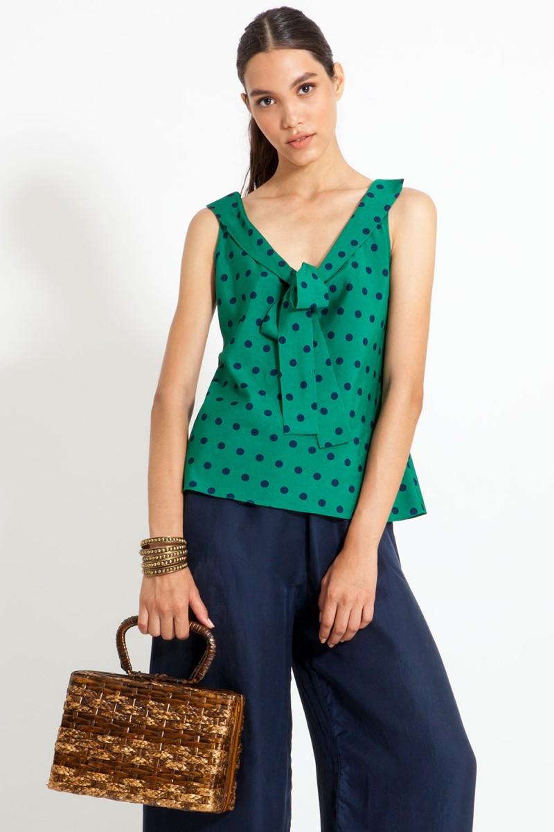 Blusa Cute Dots