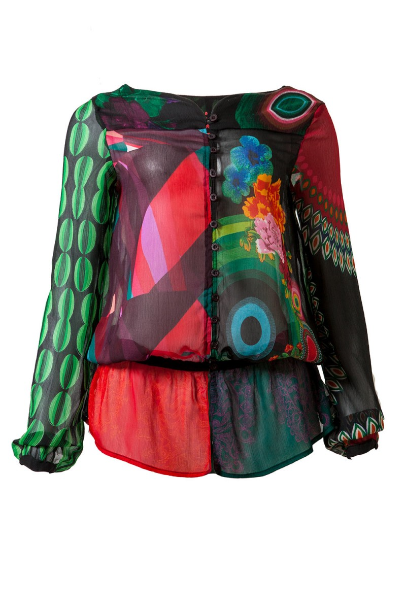 Blusa Style DESIGUAL (VENDIDA)