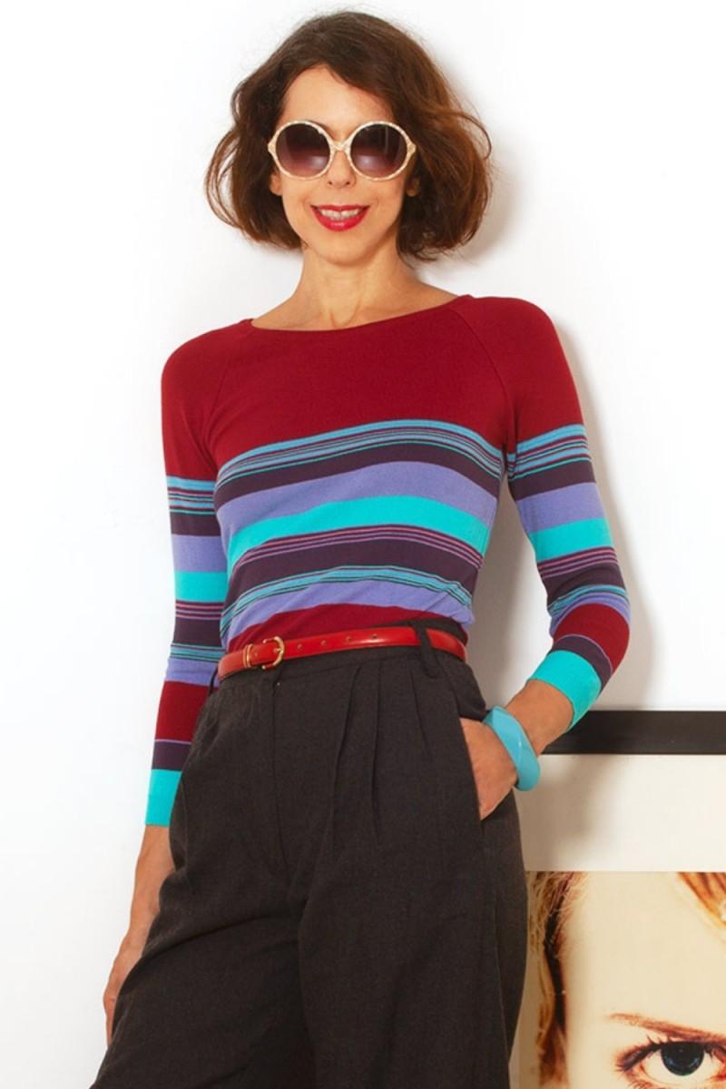Blusa Tricô Colorful