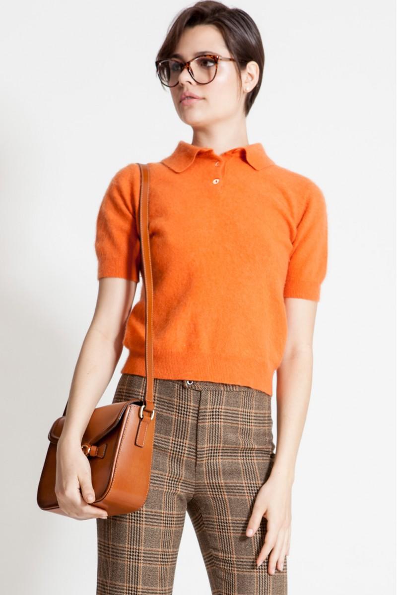 Blusa Vintage Orange Now