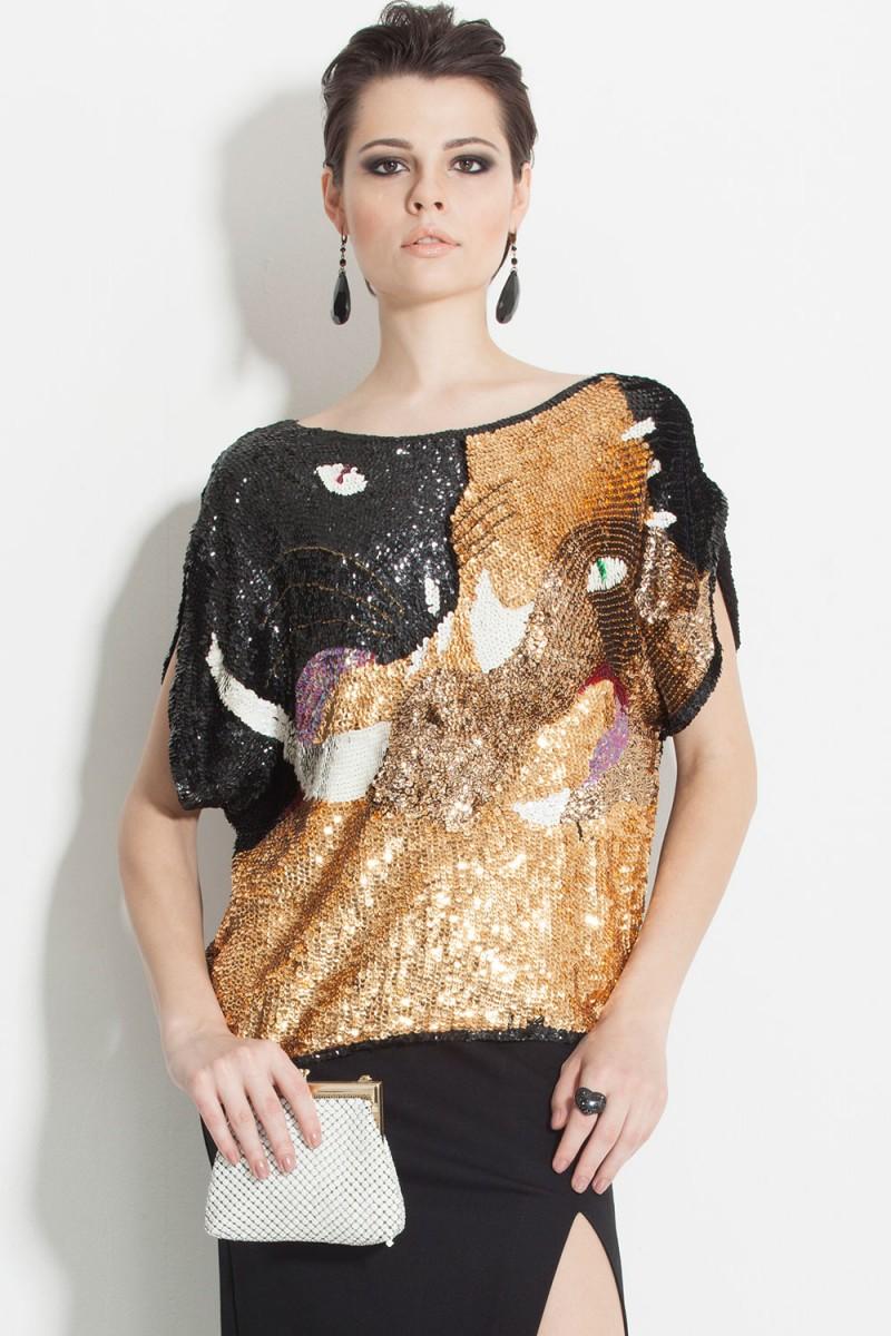 Blusa Vintage Total Glam (VENDIDA)