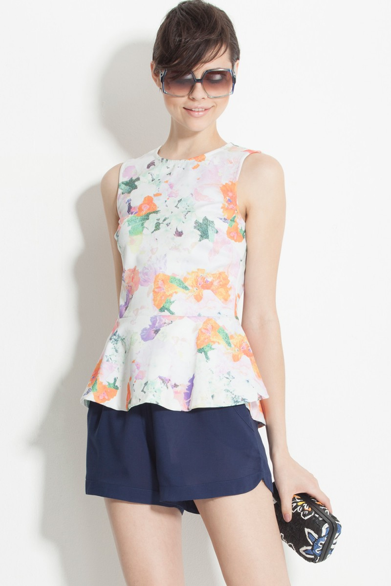 Blusa Watercolor H&M