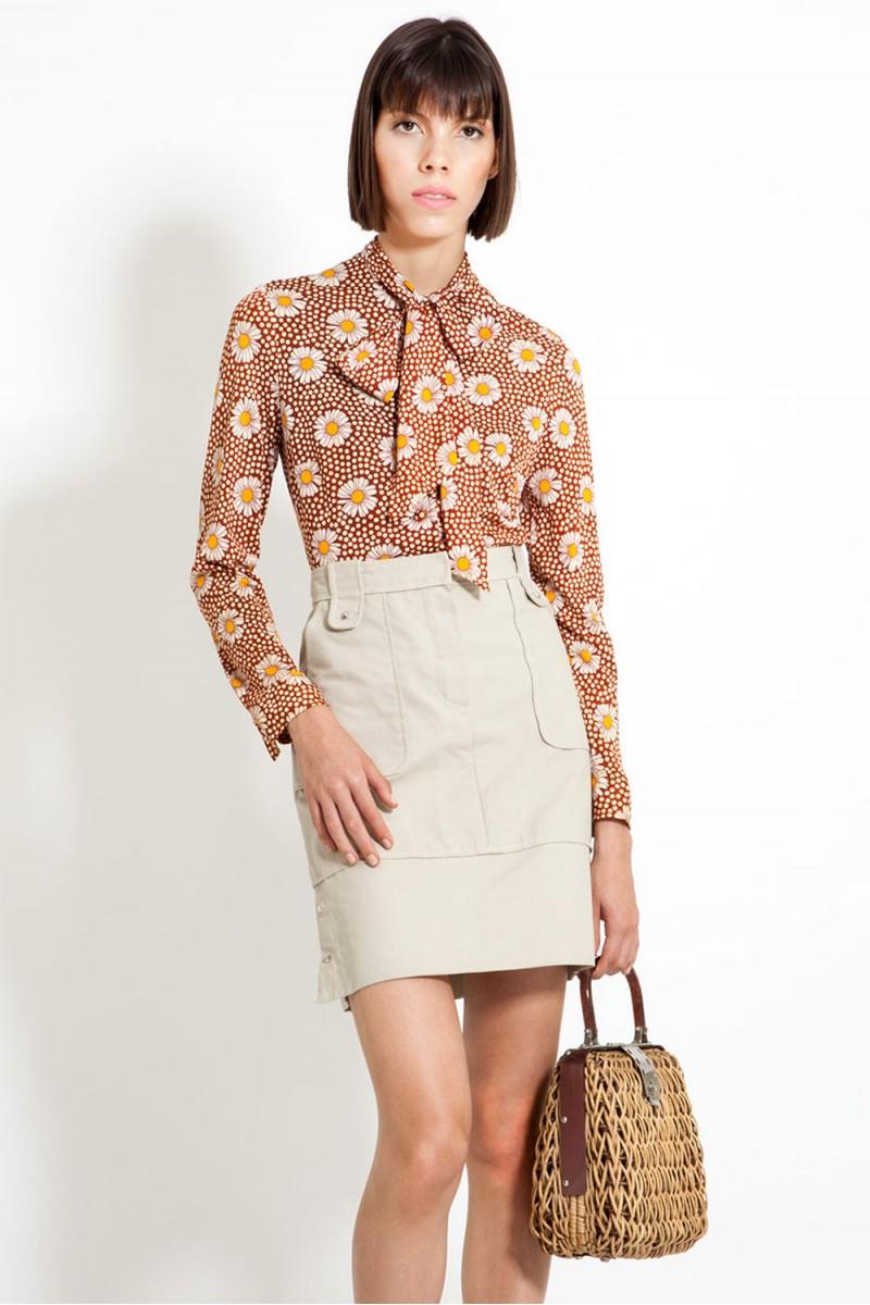 Camisa Vintage Daisy (VENDIDA)