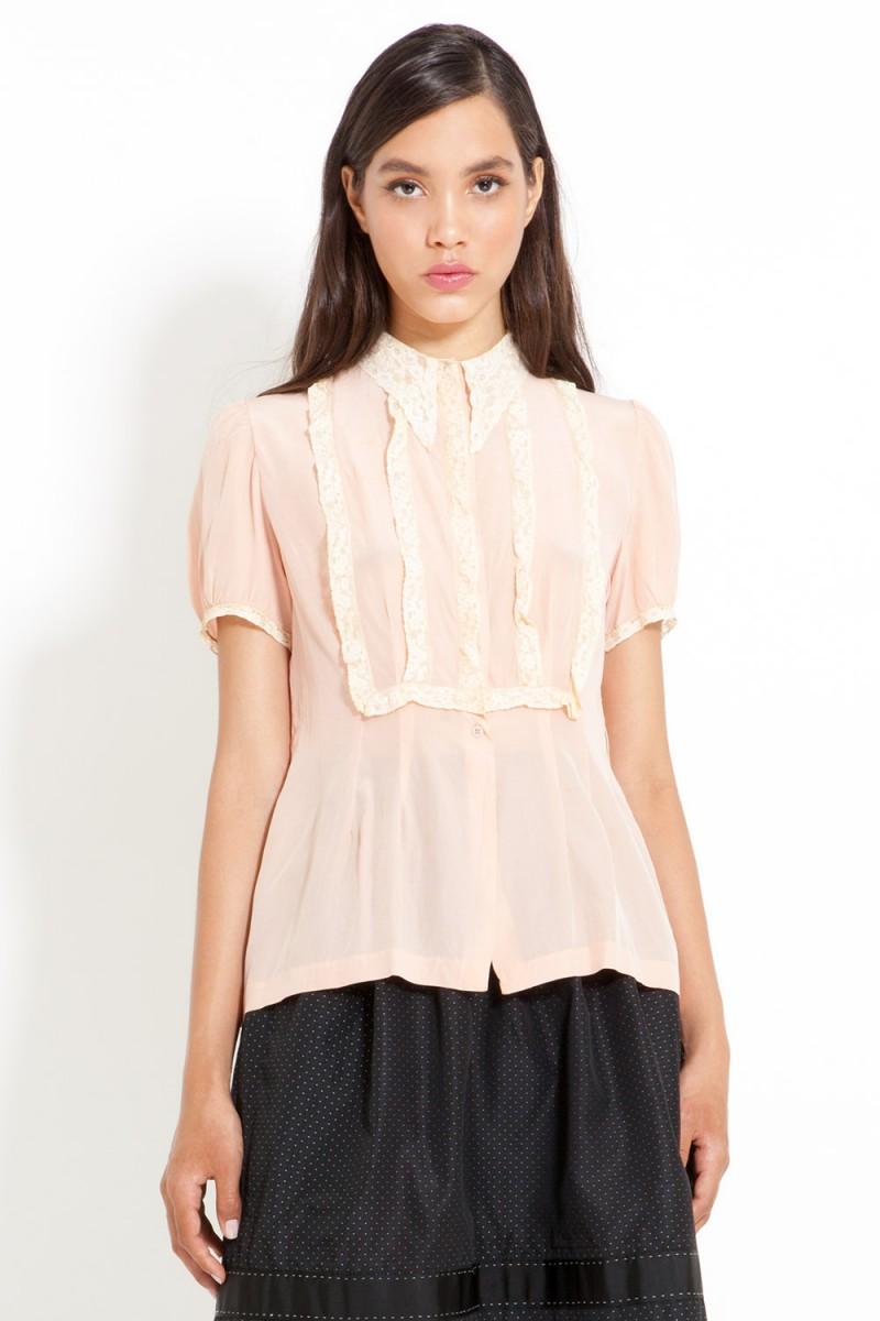 Camisa Vintage Ladylike