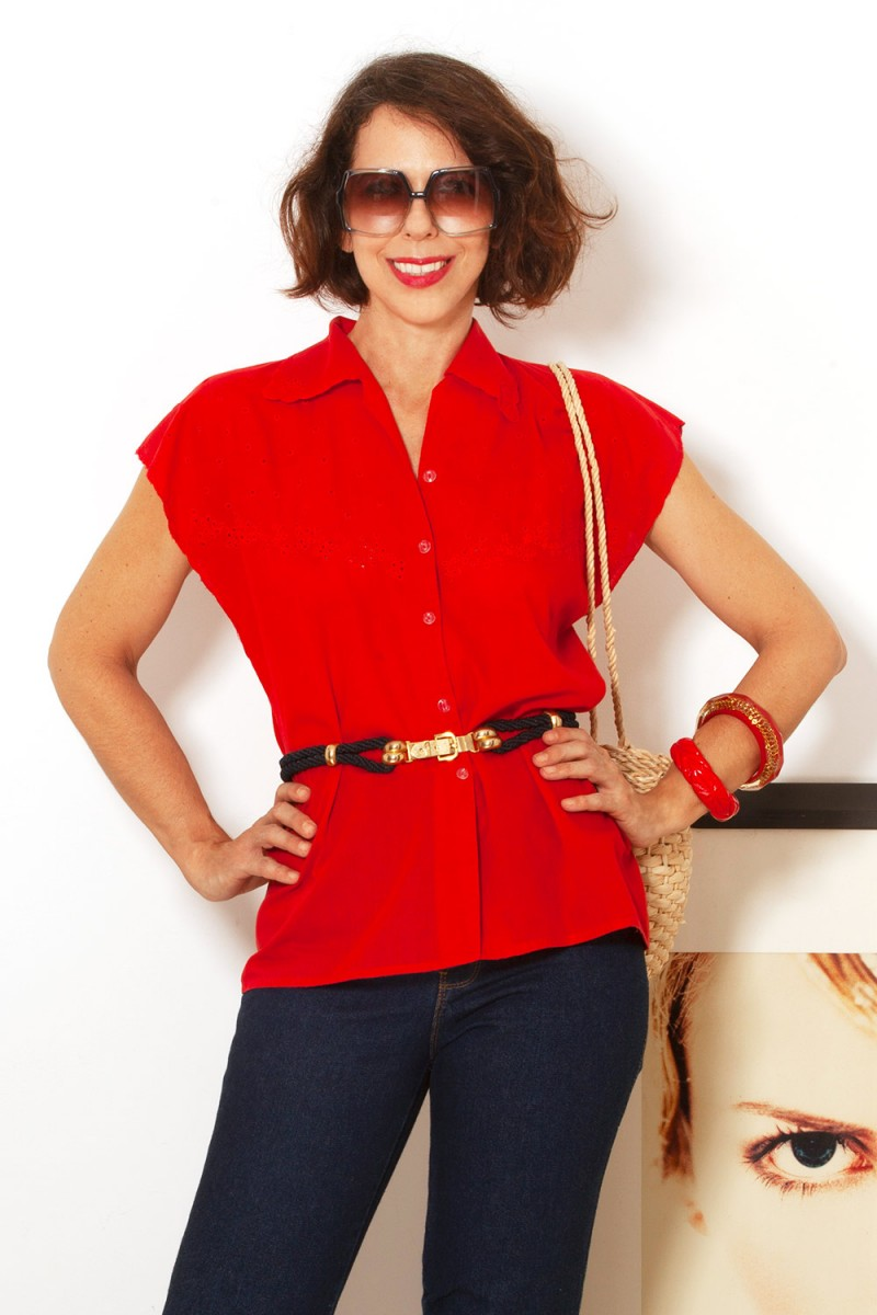Camisa Vintage Morango