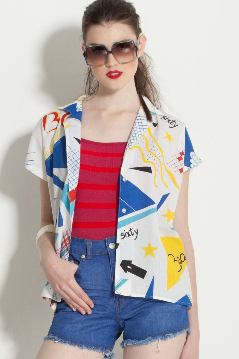 Camisa Vintage Pop Art (VENDIDA)