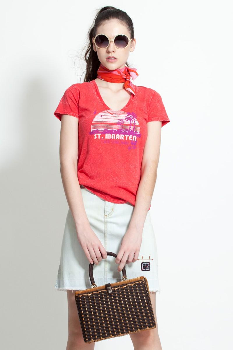 Camiseta Vintage St. Maarten
