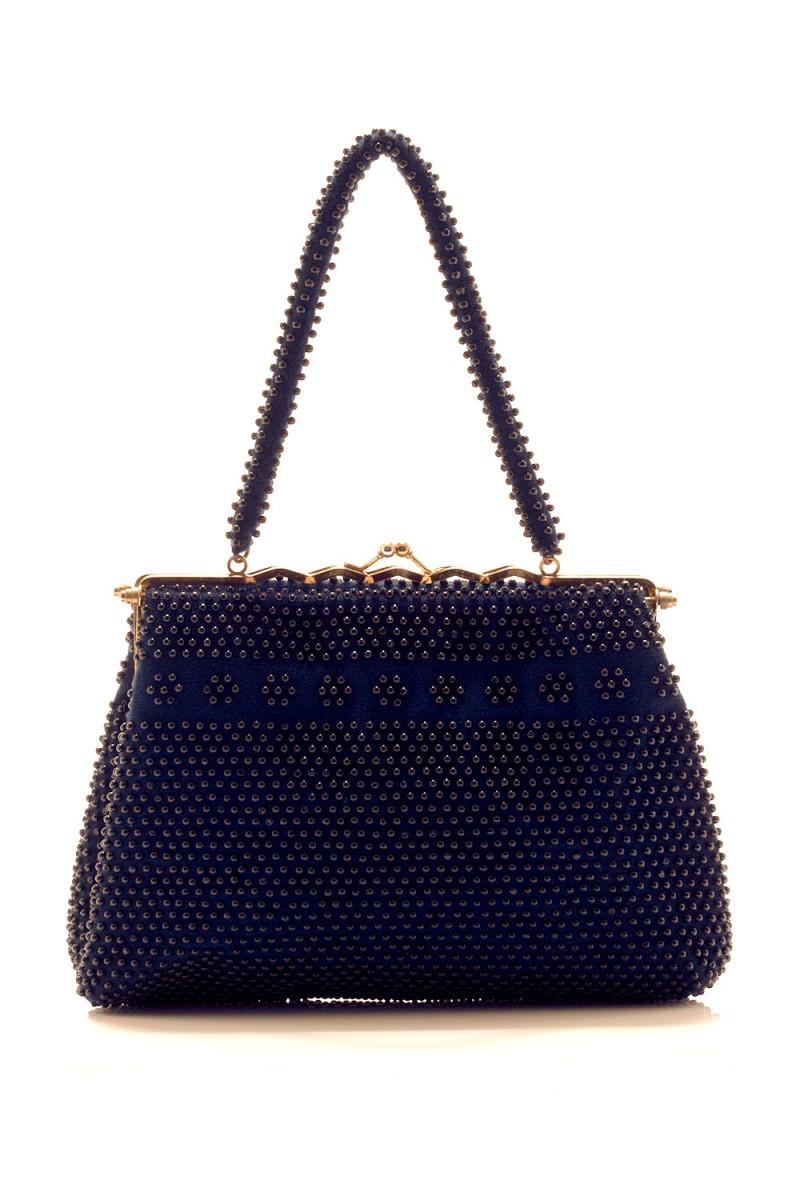 Bolsa Vintage Fofura Azul