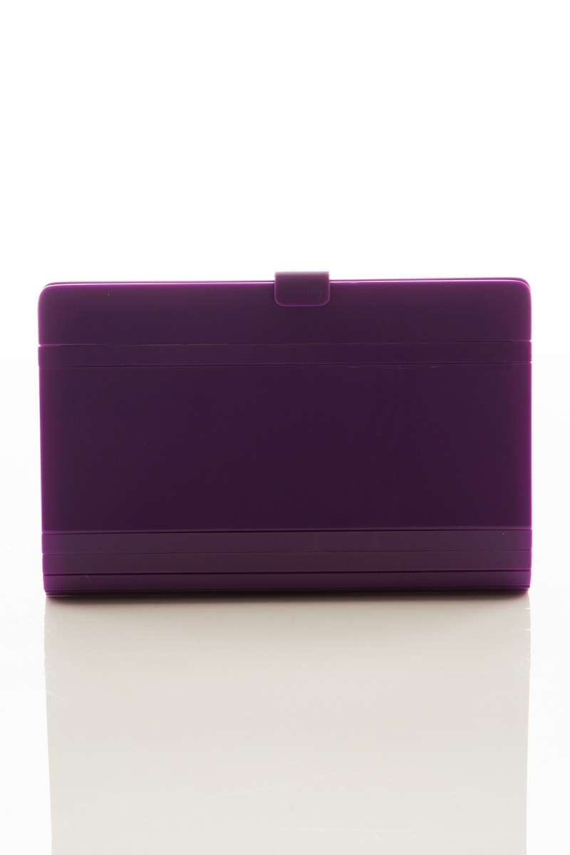 Clutch Vintage Purple Side