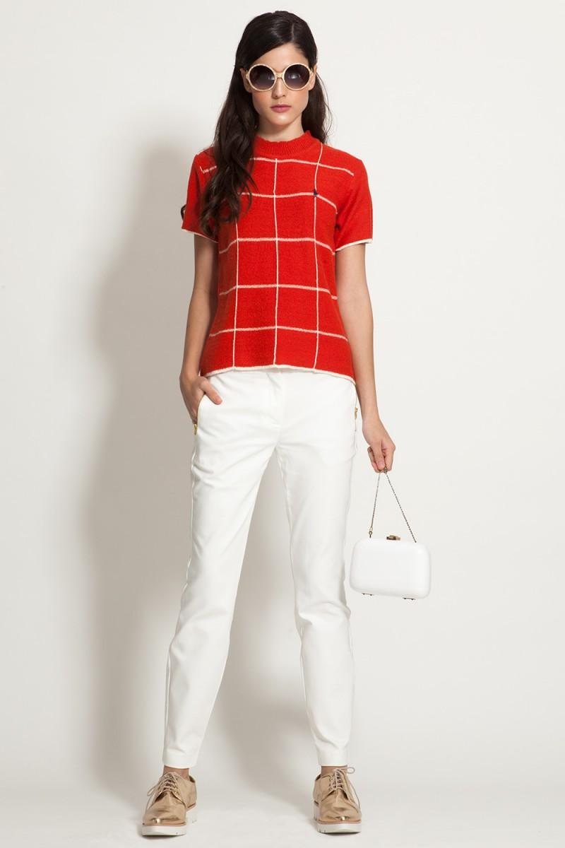 Calça Branco é Chique
