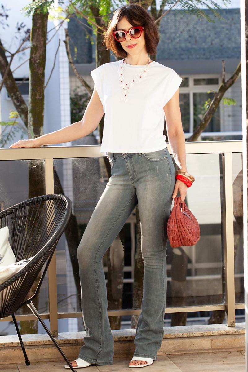 Calça Jeans Grey ZARA