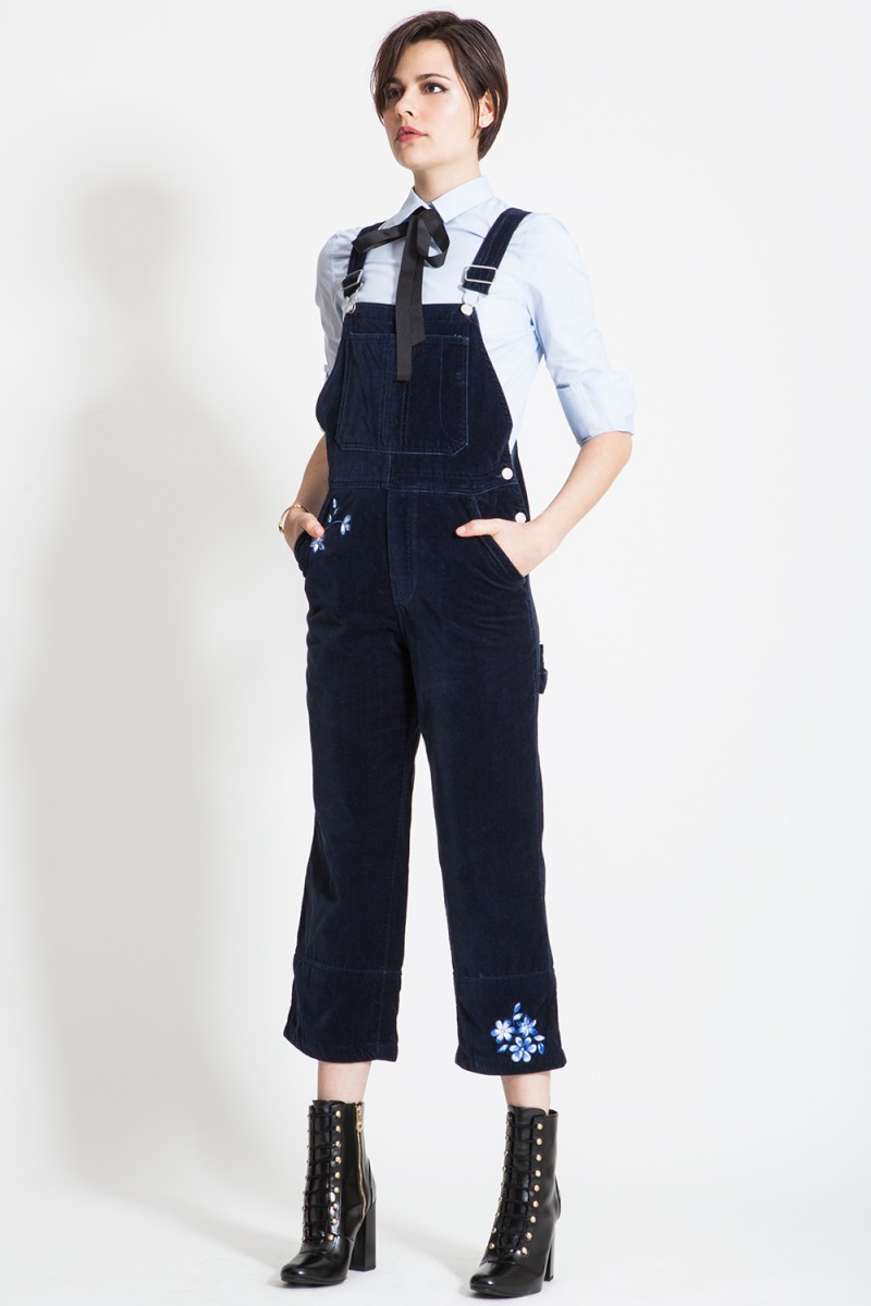 Jardineira Blue Velvet GAP