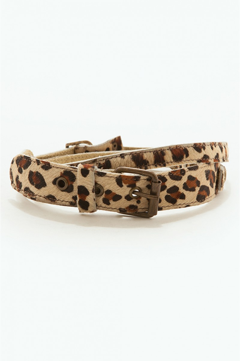Cinto Leopard Skin