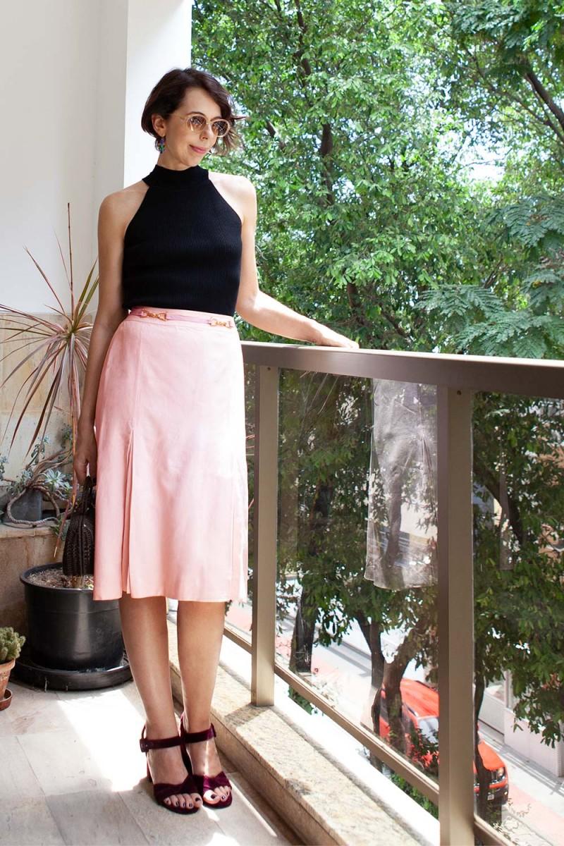 Saia Vintage Pink CELINE
