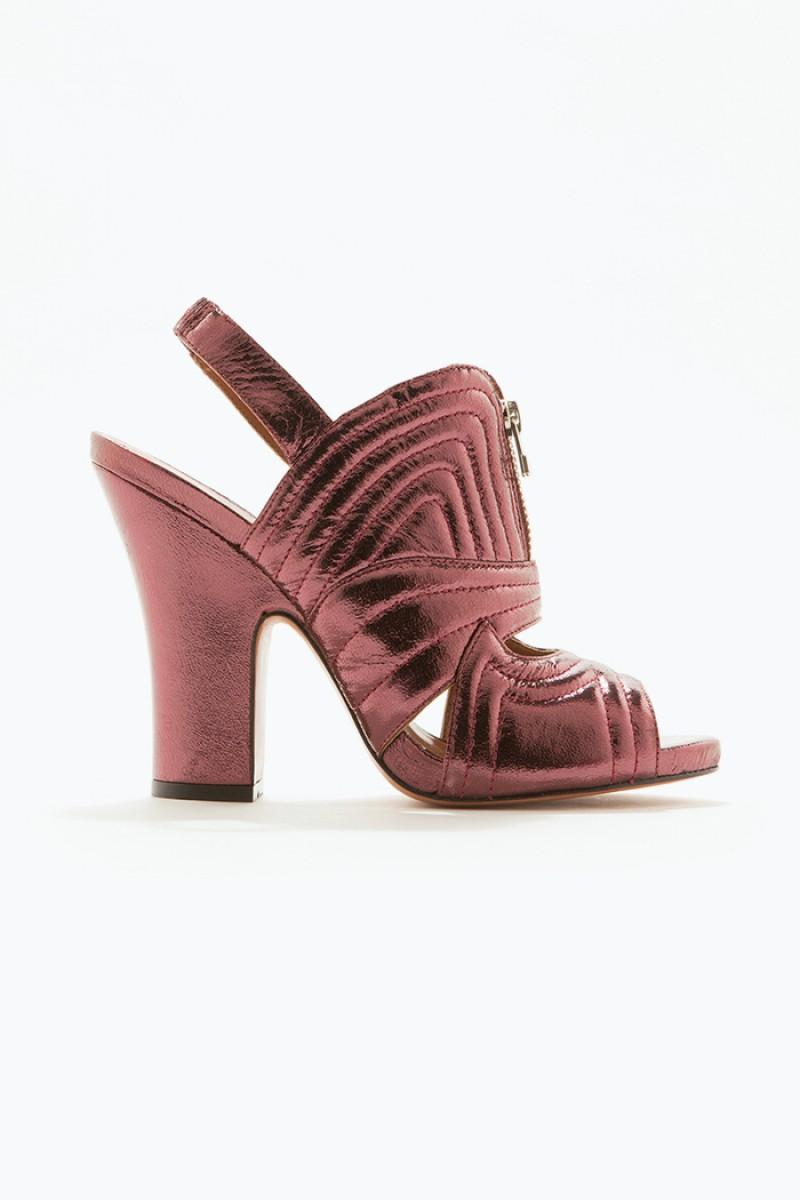 Sandália Metal Glam