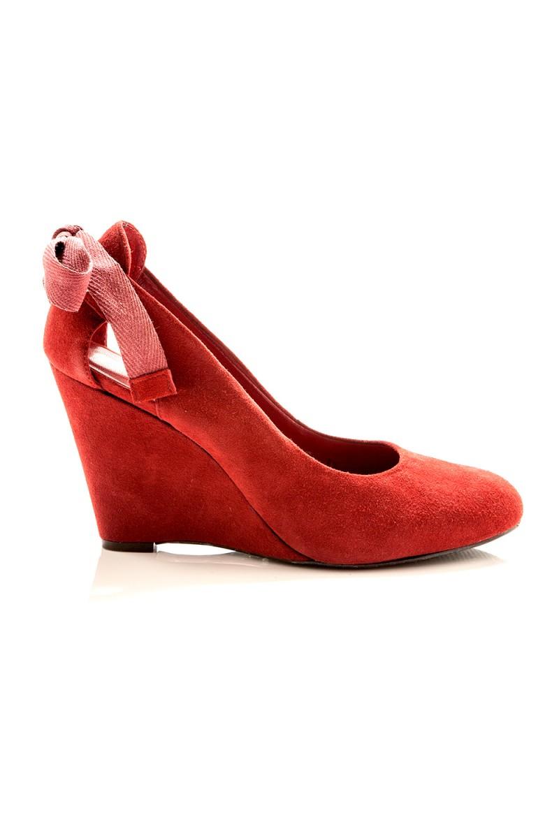 Sapato Batom Vermelho
