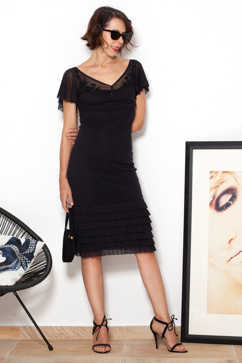 Vestido Black Bela