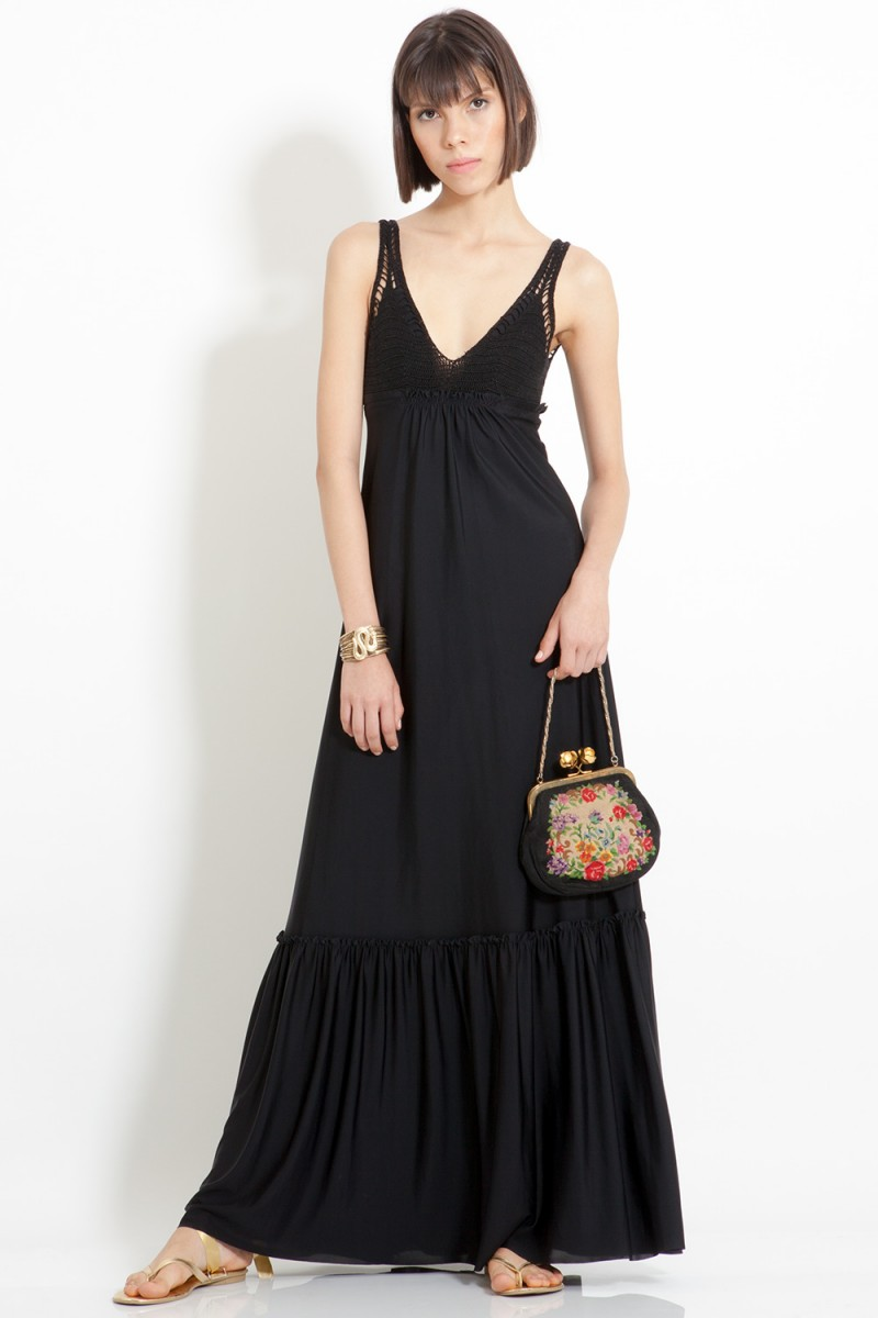Vestido Black Boho