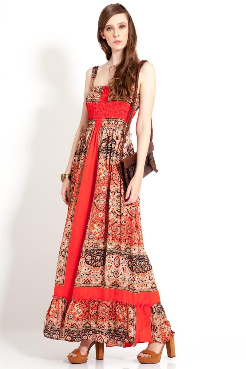 Vestido Ethnic CAROL BASSI