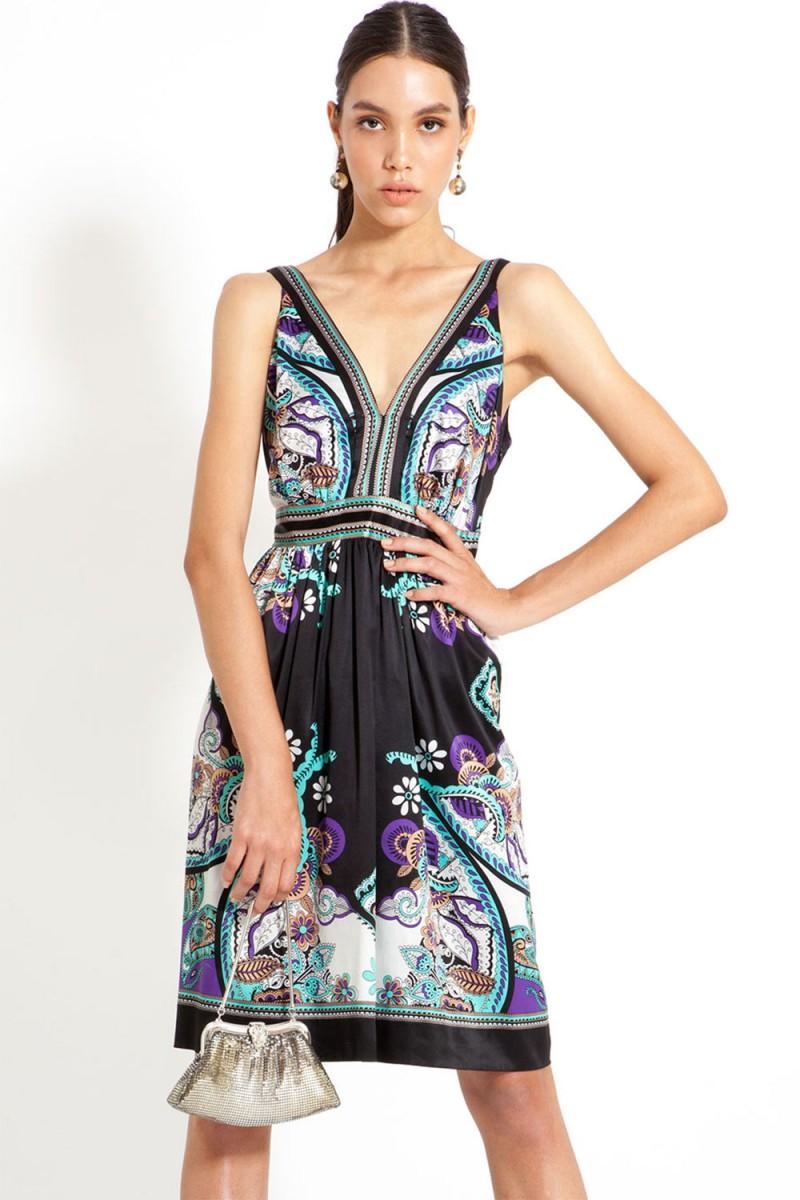 Vestido Fashion Scarf