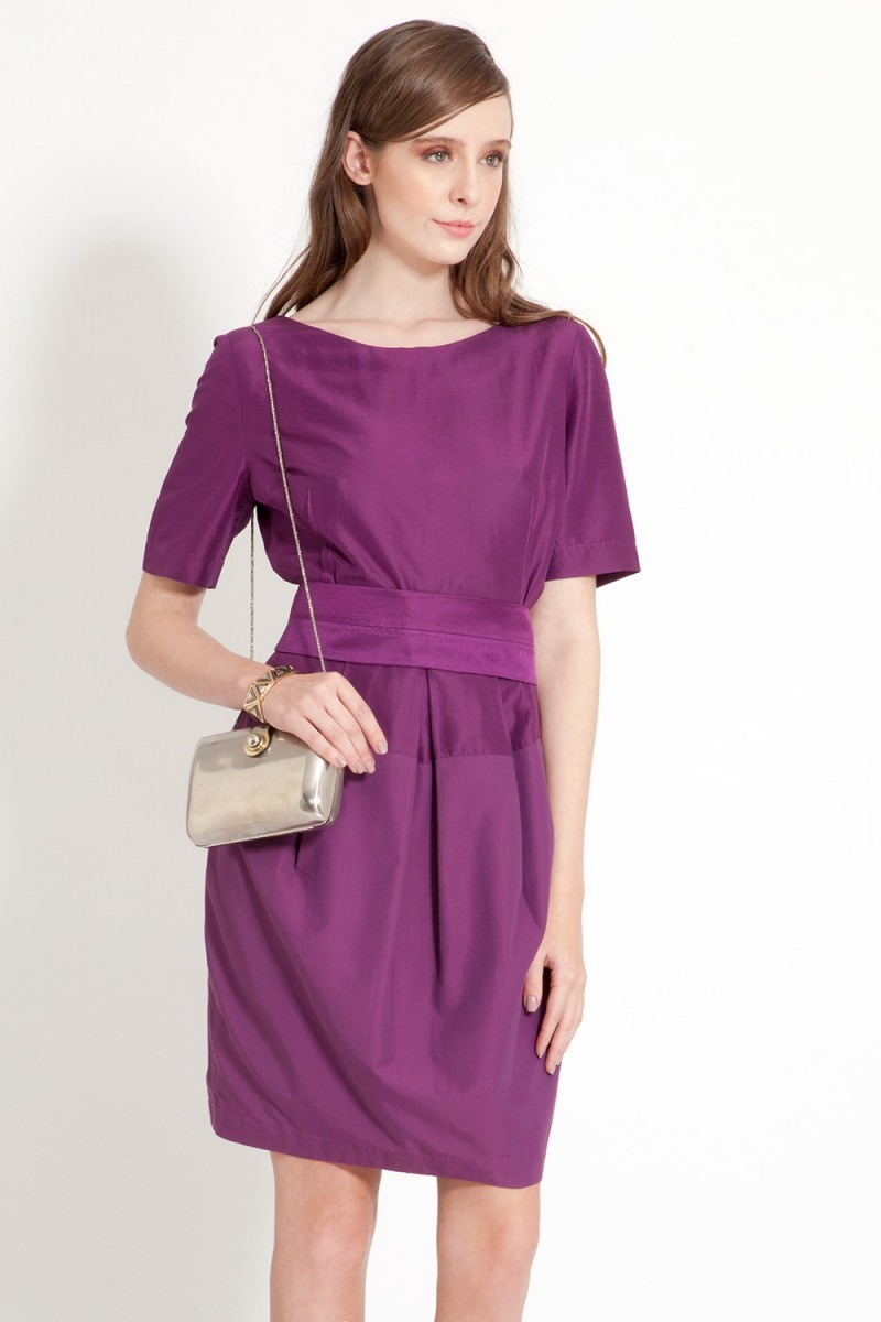 Vestido Grape HUIS CLOS
