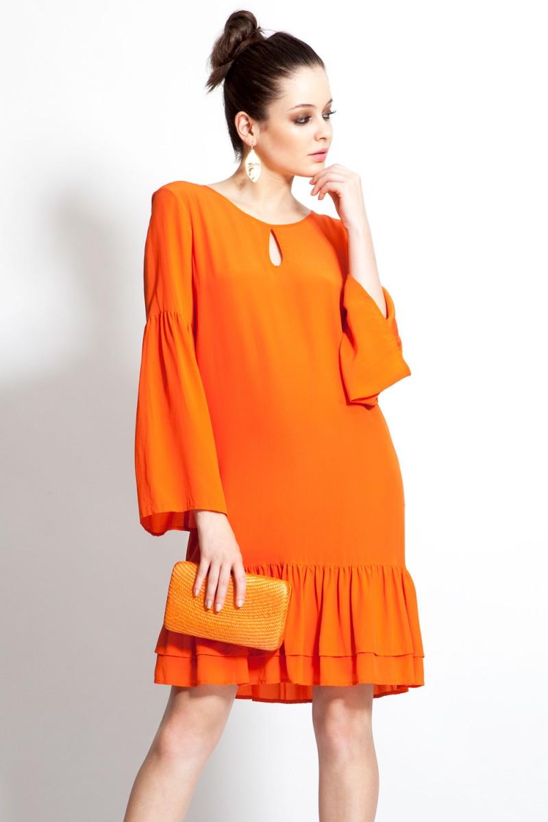 Vestido Orange Alert BO.BÔ (VENDIDO)