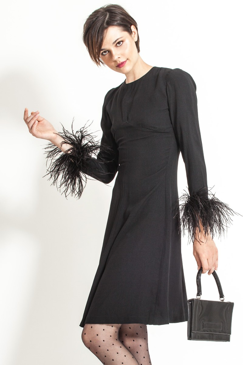 Vestido Vintage Black Glam
