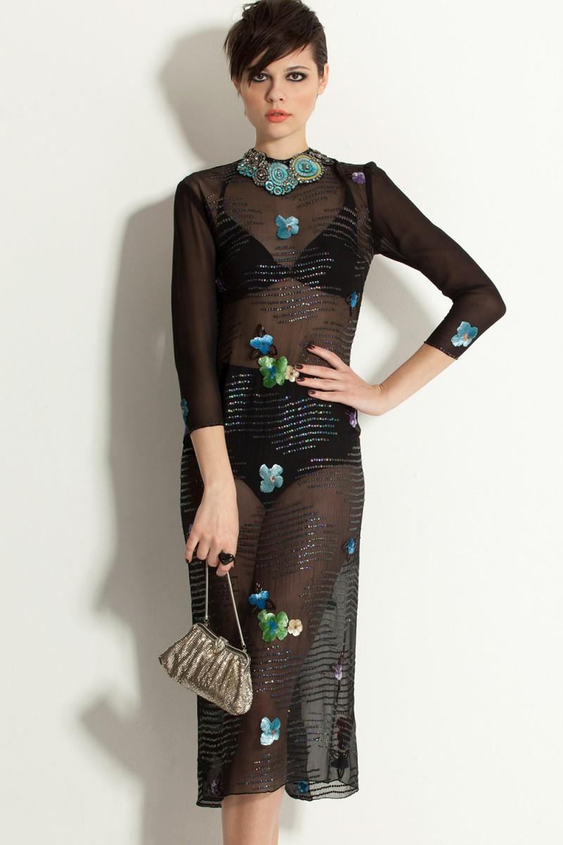 Vestido Vintage Hot Couture (VENDIDO)