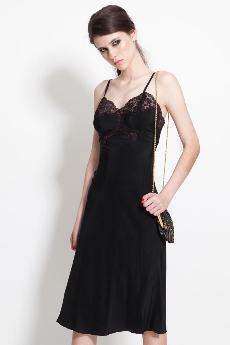 Vestido Vintage Lingerie (VENDIDO)