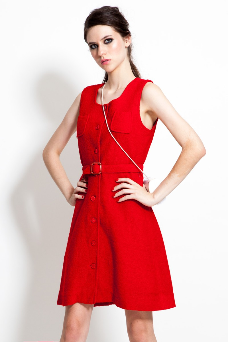 Vestido Vintage Rouge