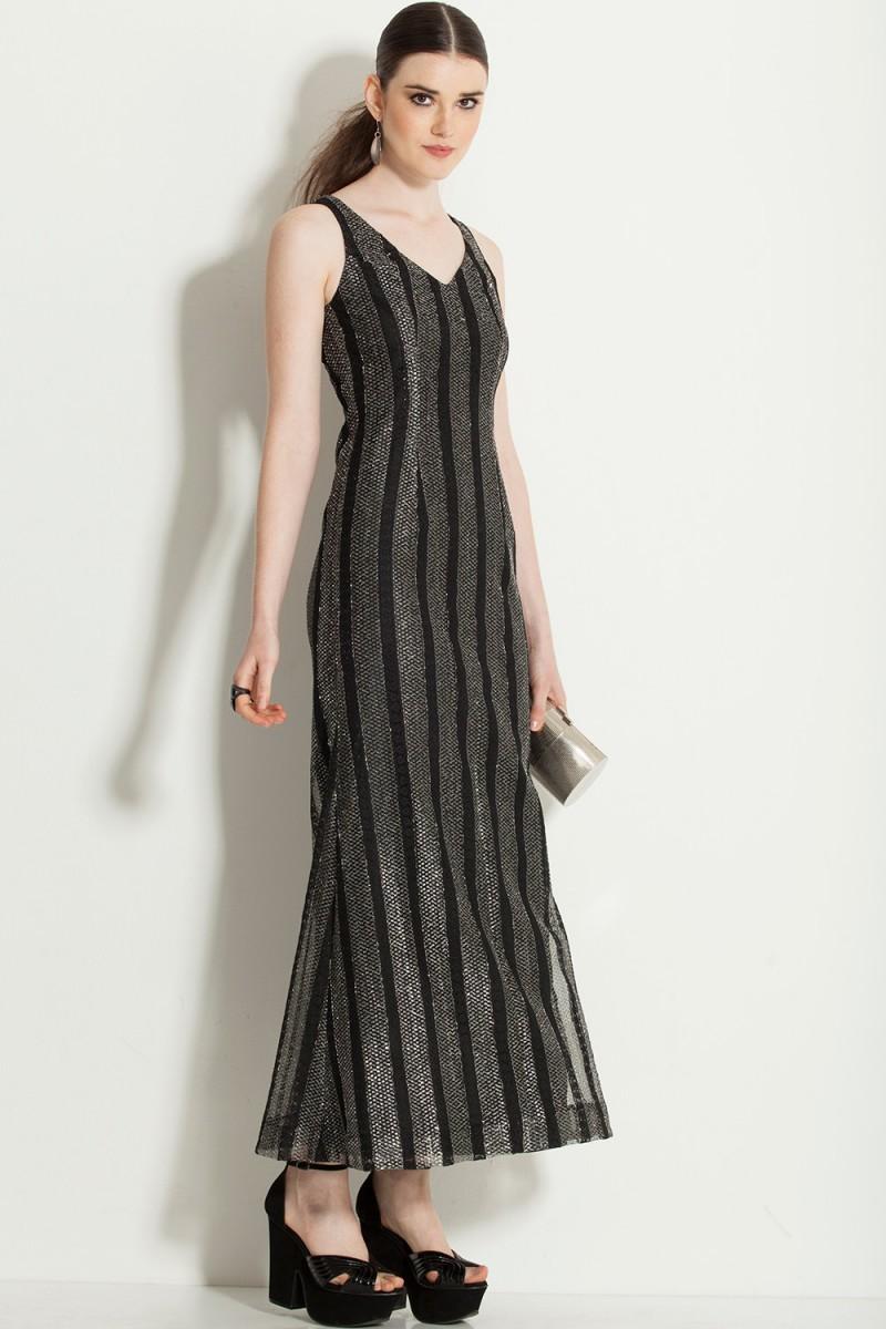 Vestido Vintage Sereia