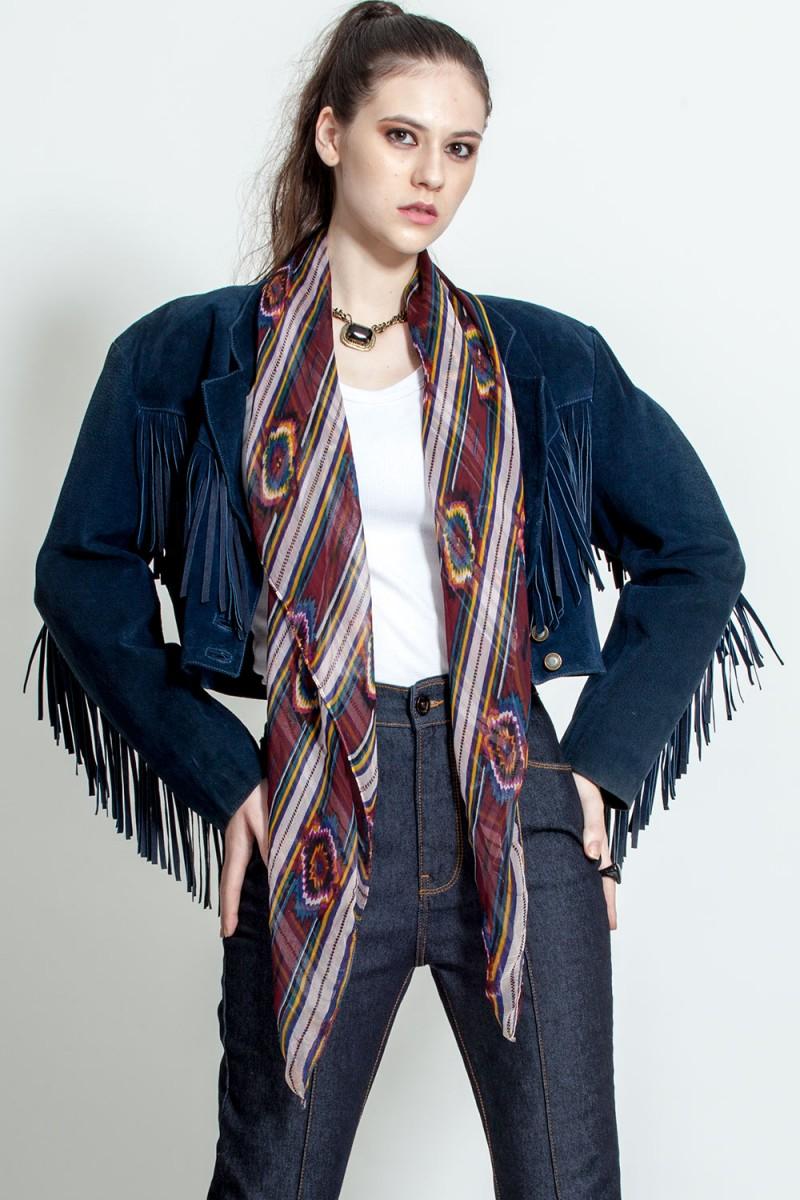 Jaqueta Vintage Blue Cowboy